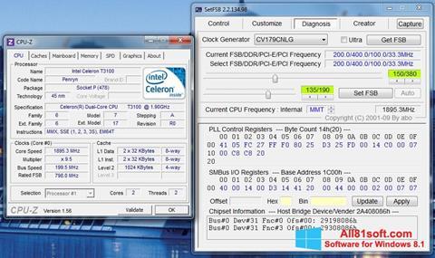 Captură de ecran SetFSB pentru Windows 8.1