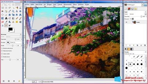 Captură de ecran GIMP pentru Windows 8.1