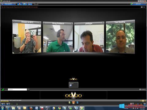 Captură de ecran ooVoo pentru Windows 8.1