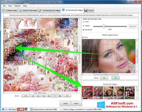 Captură de ecran Photo Collage Maker pentru Windows 8.1