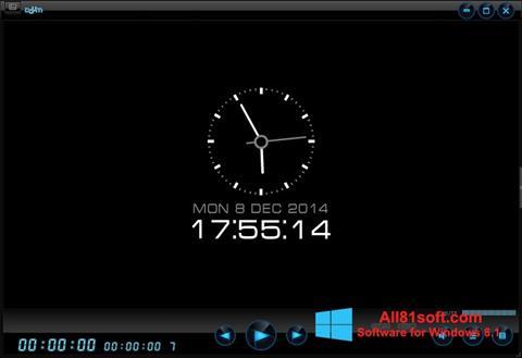 Captură de ecran Daum PotPlayer pentru Windows 8.1