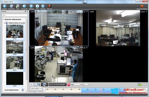 Captură de ecran Ivideon Server pentru Windows 8.1