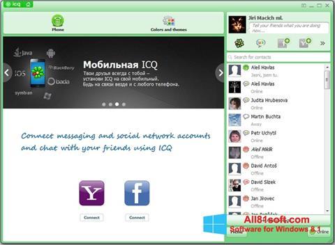 Captură de ecran ICQ pentru Windows 8.1
