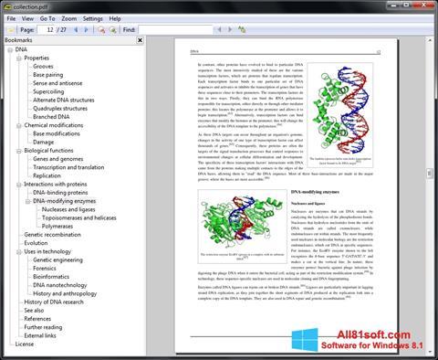 Captură de ecran Sumatra PDF pentru Windows 8.1