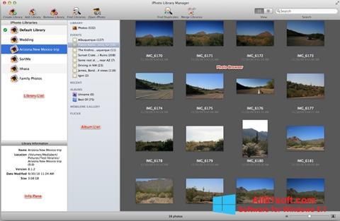 Captură de ecran iPhoto pentru Windows 8.1