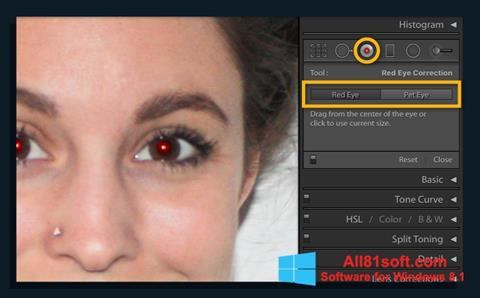 Captură de ecran Red Eye Remover pentru Windows 8.1