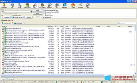 Captură de ecran eMule pentru Windows 8.1